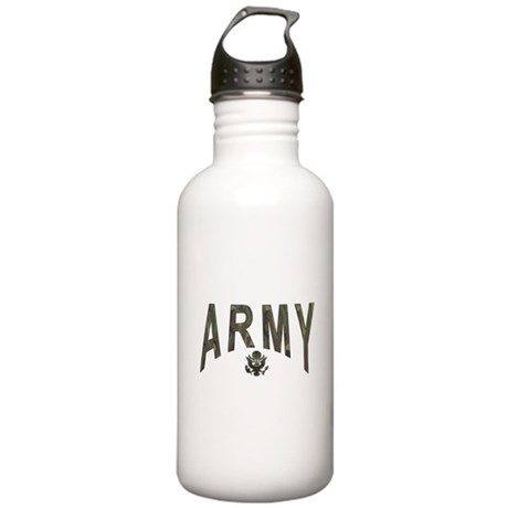 Army & Eagle Stainless Water Bottle 1.0L