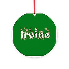 Irvine Ornament (Round)