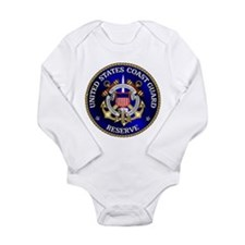 USCG Reserve Long Sleeve Infant Bodysuit