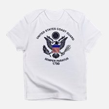 USCG Flag Emblem Infant T-Shirt