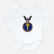 Navy Corpsman Long Sleeve Infant Bodysuit