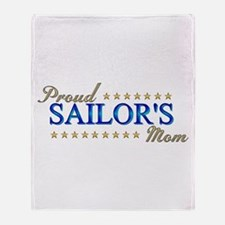 Sailor's Mom Throw Blanket