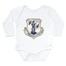 US Air National Guard Long Sleeve Infant Bodysuit