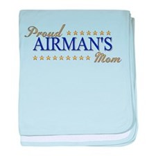 Airman's Mom baby blanket
