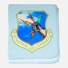Strategic Air Command baby blanket