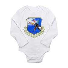 Strategic Air Command Long Sleeve Infant Bodysuit