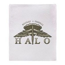 Halo Badge Throw Blanket