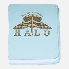 Halo Badge baby blanket