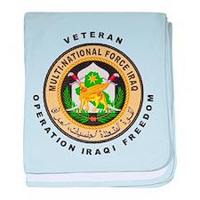 OIF Veteran baby blanket