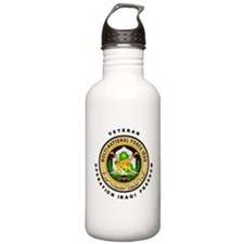 OIF Veteran Water Bottle