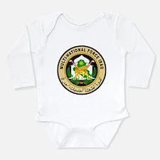 Iraq Force Long Sleeve Infant Bodysuit
