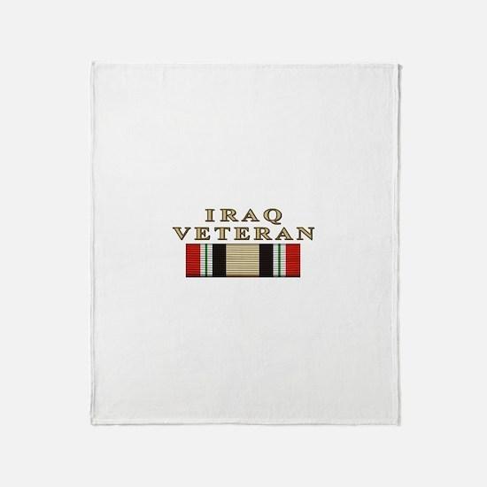 Iraq Vet Throw Blanket