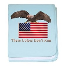 These Colors Don't Run baby blanket