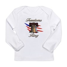Freedoms Ring Long Sleeve Infant T-Shirt