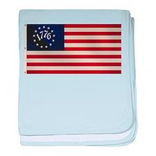 1776 Flag baby blanket