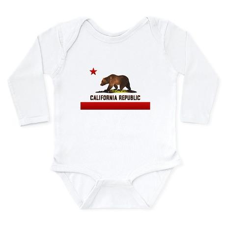 California Bear Long Sleeve Infant Bodysuit