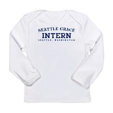 Intern - Seattle Grace Long Sleeve Infant T-Shirt
