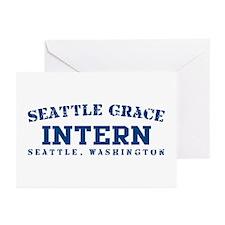 Intern - Seattle Grace Greeting Cards (Pk of 10)