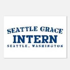 Intern - Seattle Grace Postcards (Package of 8)