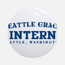 Intern - Seattle Grace Ornament (Round)
