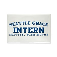 Intern - Seattle Grace Rectangle Magnet