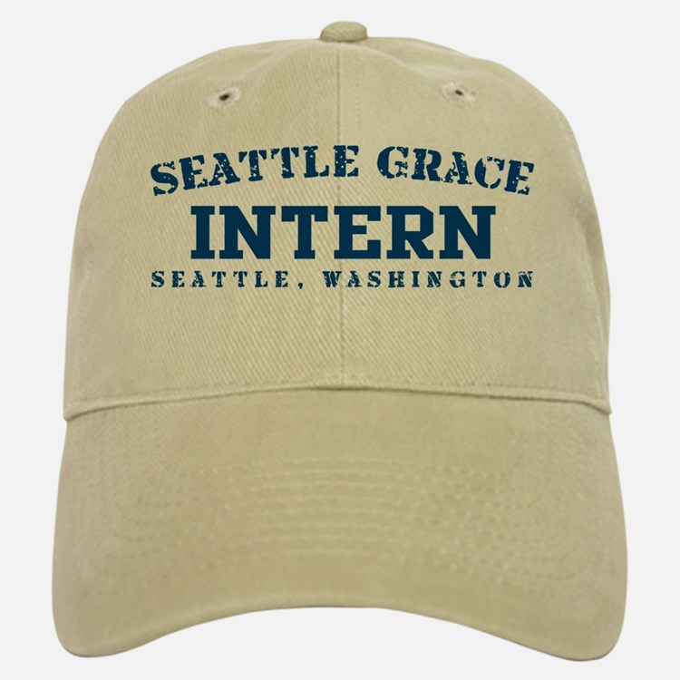 Intern - Seattle Grace Baseball Baseball Cap