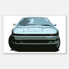 Sky Blue MKIII Toyota Supra Decal