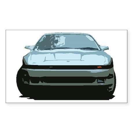 Sky Blue MKIII Toyota Supra Sticker (Rectangle)