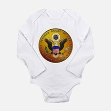 US Supreme Court Long Sleeve Infant Bodysuit
