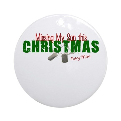 Missing my Son Ornament (Round)