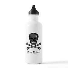 Pure Poison Skull Water Bottle