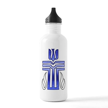 Presbyterian Cross Stainless Water Bottle 1.0L