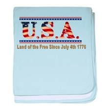 Since 1776 baby blanket