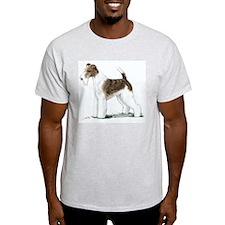 Fox Terrier Ash Grey T-Shirt