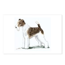 Fox Terrier Postcards (Package of 8)