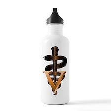 Veterinary Caduceus Water Bottle