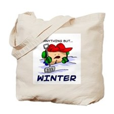 Anything But... Winter Tote Bag