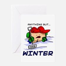 Anything But... Winter Greeting Card
