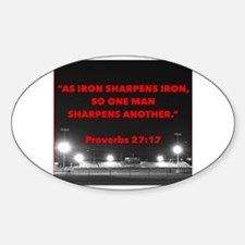 Cool Proverbs Sticker (Oval)