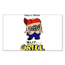 Nothin' But...Grill Decal