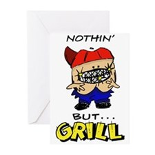 Nothin' But...Grill Greeting Cards (Pk of 10)