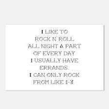 Rock N Roll Postcards (Package of 8)