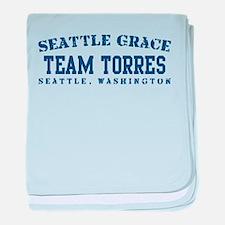 Team Torres - Seattle Grace baby blanket