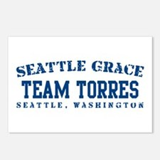 Team Torres - Seattle Grace Postcards (Package of