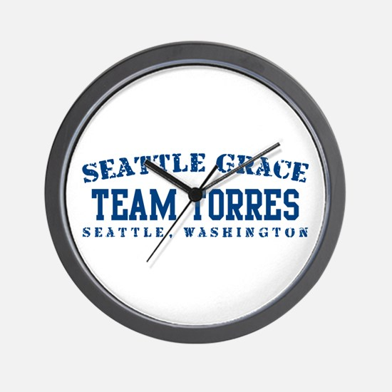 Team Torres - Seattle Grace Wall Clock