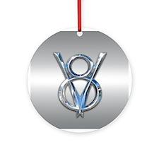 V8 Ornament (Round)