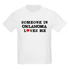 Someone in Oklahoma Kids T-Shirt