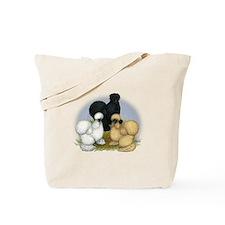 Silkie Chicken Trio Tote Bag