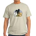 Silkie Chicken Trio Light T-Shirt