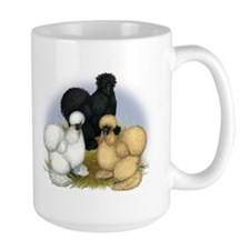 Silkie Chicken Trio Mug